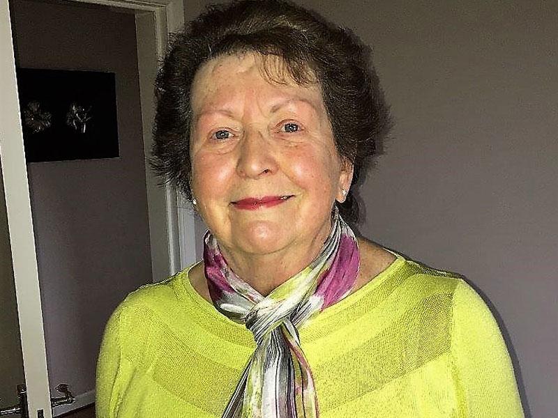 In memory of Sheila Findlay